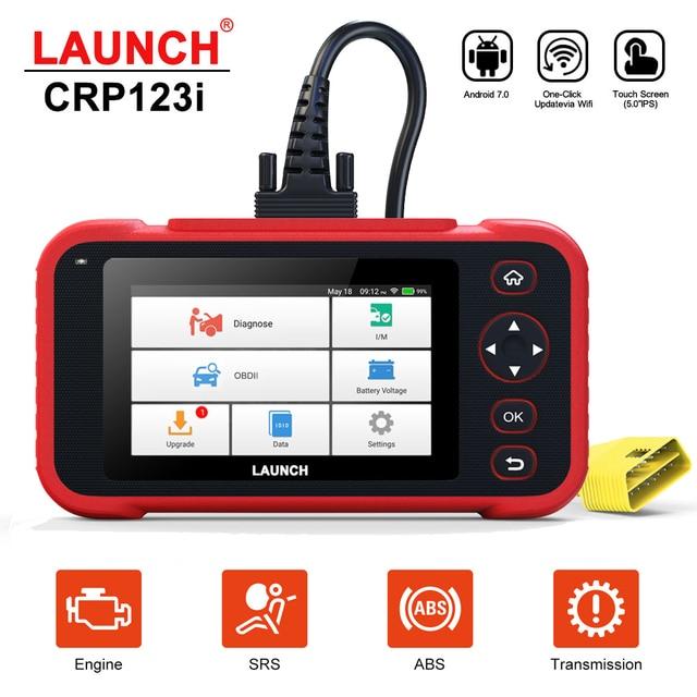 Lancio CRP123i OBD2 Scanner automobilistico OBD 2 strumento diagnostico per Auto lettore di codice motore Tester batteria per Auto lancio EOBD Scanner automatico
