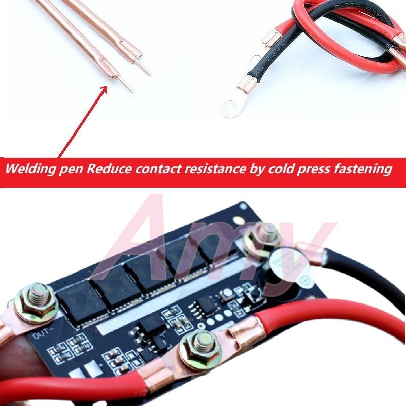 DIY Portable 12V Battery Spots Welder Pen Model PCB Circuit Board Control Welding Machine 18650 Energy Storage Spot Solder