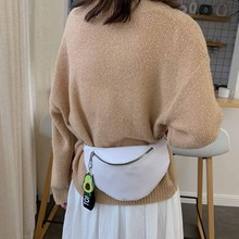 Women Fashion Chain Leather Messenger Bag Shoulder Bag Chest Bag Simple Leisure Chian Single Shoulder Messenger Bag travel #0924