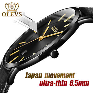 OLEVS Watches Waterproof Clock Sports Top-Brand Ultra-Thin Luxury Mens Date Quartz Male