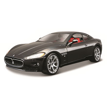 Bburago 1:24 2008 Maserati GranTurismo alloy racing car Alloy Luxury Vehicle Diecast Pull Back Cars Model Toy Collection Gift