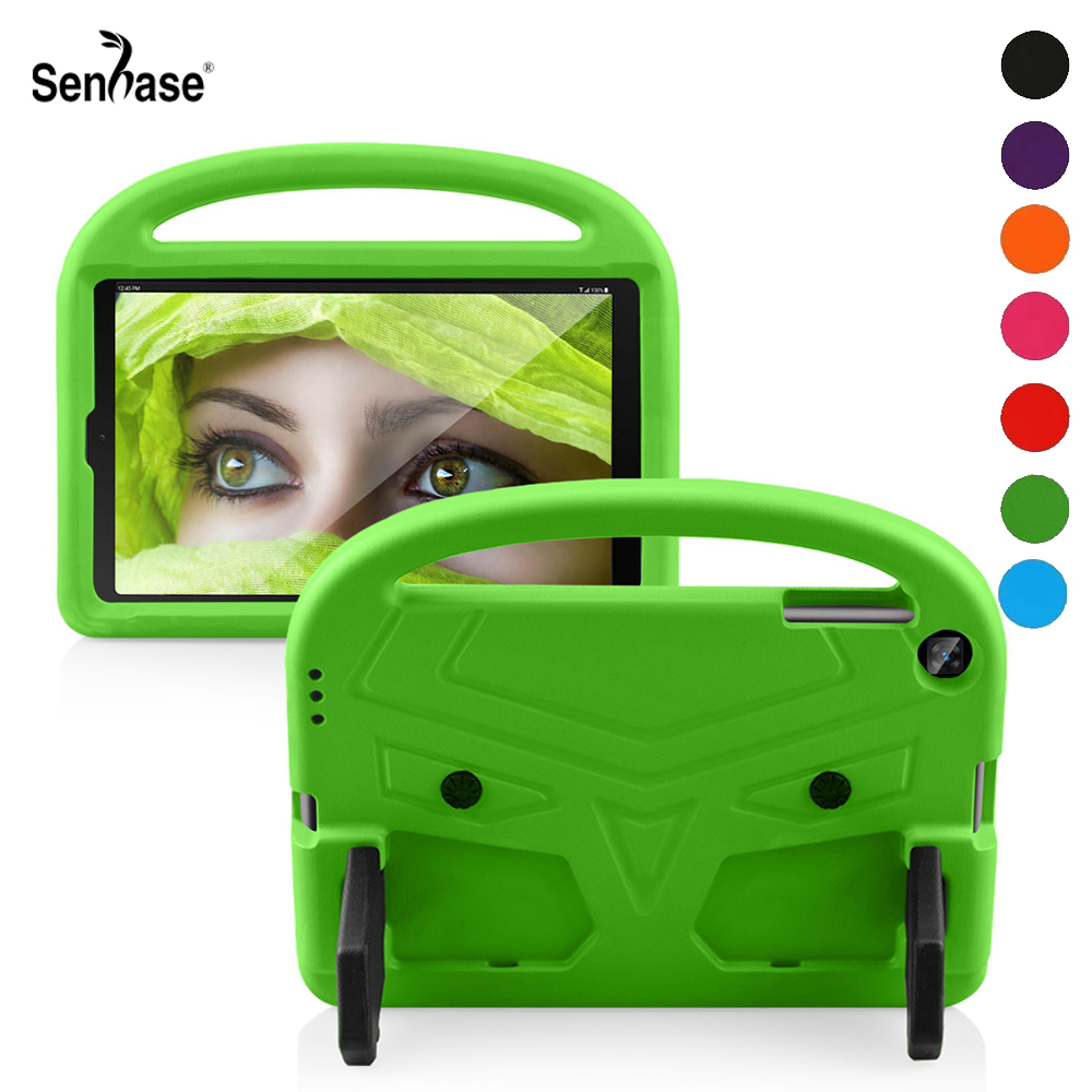 EVA Portable Stand <font><b>Kids</b></font> Safe Foam Shockproof <font><b>Tablet</b></font> Cover For Samsung Galaxy Tab A <font><b>10.1</b></font> 2019 SM-T510 SM-T515 T510 T515 <font><b>Case</b></font> image