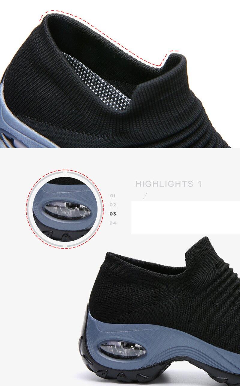 Women Shoes Plus Size 35-42 Women Sneakers Breathable Platform Casual Shoes Women Vulcanize Shoes Sneakers Footwear VT632 (3)