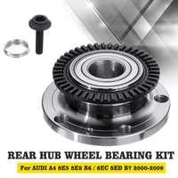 Rear Hub Wheel Bearing Kit For Audi A4 8E5 8E2 B6 / 8EC 8ED B7 2000 2009 Wheels Tires Parts
