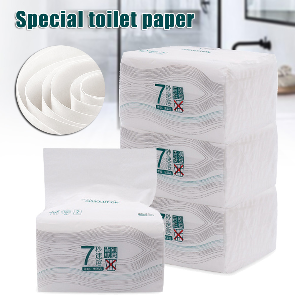 Clean Soft Paper Extraction Tissue Wood Pulp Paper 150 Pumping 3-ply For Home Office Toilet BMF88