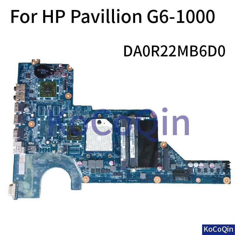 KoCoQin материнская плата для ноутбука HP Pavillion G4 G4 1000 G6 1000 G7 AMD Материнская плата DA0R22MB6D0 DA0R22MB6D1 Материнские платы для ноутбуков      АлиЭкспресс