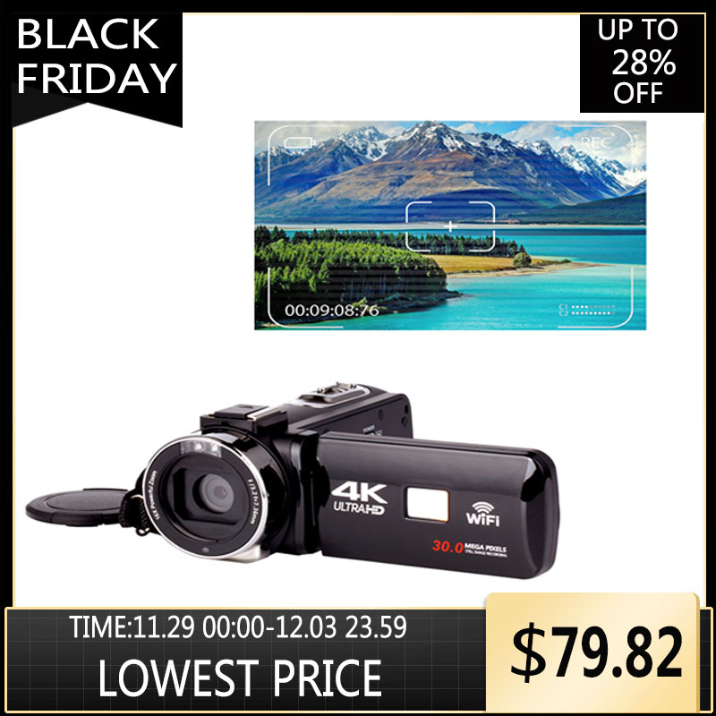Ultra HD 4K caméra d'action WiFi télécommandes caméras sport vidéo caméscope DVR DV Go étanche Pro caméra 30 millions de pixels
