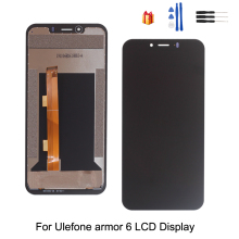 цена на Original For Ulefone Armor 6 LCD Display Touch Screen 6.2 inch Assembly Repair Part For Ulefone Armor 6 LCD Display Screen