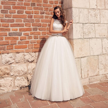 Verngo Ball Gown Wedding Dress Princess Wedding Gowns Lace Appliques Bride Dress Boho 2020 Trouwjurk Vestido De Noiva verngo ball gown wedding dress appliques tull wedding gowns lace up bride dress princess wedding dress destido de noiva sereia