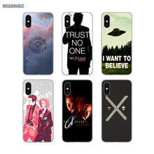 For HTC One M7 M8 M9 M10 Desire 530 816 820 A9 U11 For Sony Xperia Z Z1 2 3 5 Mini C E4 The X Files I Want To Believe Soft Cover(China)