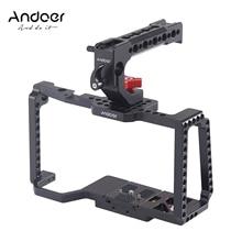 Andoer-مثبت كاميرا فيديو لـ Blackmagic Pocket ، قفص ، كاميرا فيديو 4K/6K BMPCC 4K 6K ، مقبض علوي ، تحرير سريع