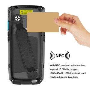 Image 5 - Escáner de código de barras PDA portátil para Android Terminal Honeywell, 1d, láser, 2d, QR, dispositivo portátil de recolección de datos con WIFI, 4G, NFC, PDA 80T