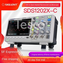 Digital oscilloscope SDS1102X-C fluorescent…