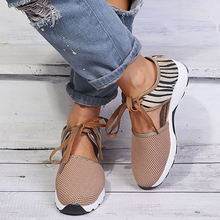 New Women Flats 2020 Spring Summer Ladies Mesh Flat Shoes