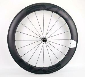 Image 2 - 700C 60mm depth road bike carbon wheels 25mm width Tubular/clincher bicycle carbon wheelset UD matte finish EVO decals