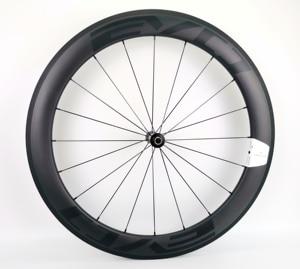 Image 2 - 700C 60mm derinlik yol bisikleti karbon tekerlekler 25mm genişlik tübüler/kattığı bisiklet karbon tekerlekler et UD mat finish EVO çıkartmaları