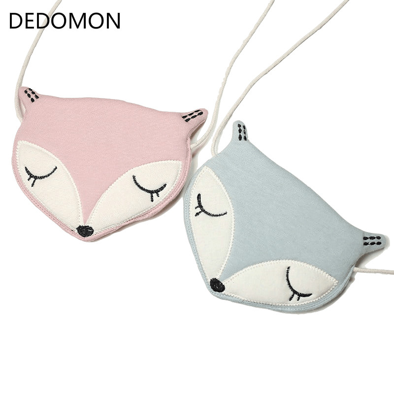 Lovely Children One Shoulder Bag Coin Purse Cute Fox Girls Messenger Bag Baby Accessories An Ideal Gift For Children's Day