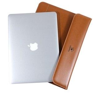 Image 5 - עור מחשב נייד שרוול מקרה עבור 2020 Macbook אוויר 13.3 Pro16 רשתית 13 16 אינץ תיק לניו MacBook pro 16 אינץ 2019 נייד