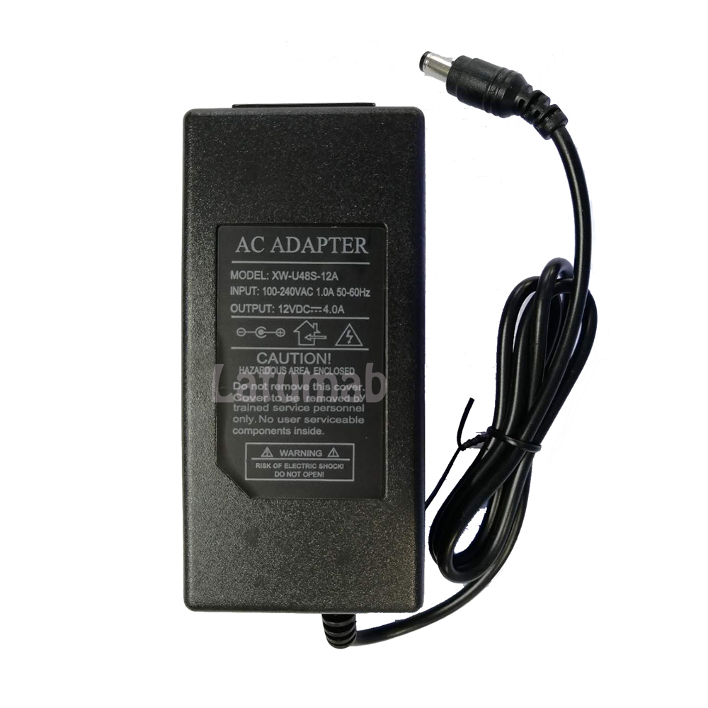 Image 3 - 12V 4A AC DC Adapter for LCD Charger Power Cord Supply Cord Cable Mains PSU 100 240vAC/DC Adapters   - AliExpress