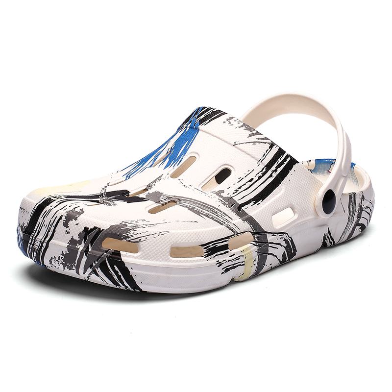 2020 Mens Beach Sandals Summer Casual Man Shoes Clogs Men Sandalias Chaussure Homme Slippers Outdoor Sandales Sandalen Sandalet