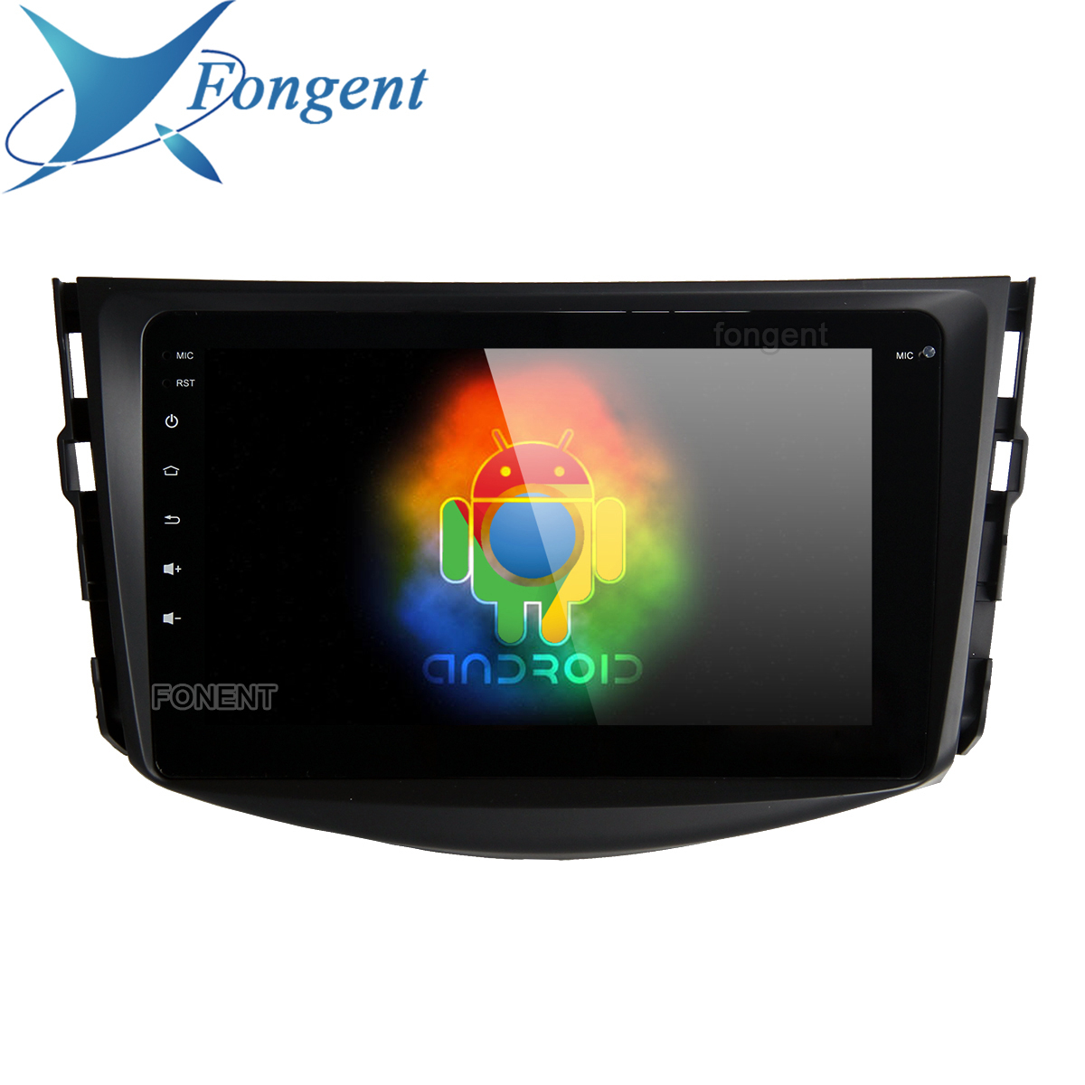 for Toyota RAV4 Radio 2009 2010 2011 2012 Vehicle GPS Navigator 1 Din HDMI Stereo 8 IPS Android 9.0 Unit Car Multimedia PC image