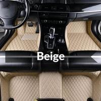 Car Floor Mats Universal for NISSAN Bluebird Sylphy G11,Rogue, Rogue Sport Top Quality Leather Car Floor Mat Set