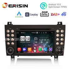 Car DVD Carplay Auto Gps Dsp Android Erisin Slk R171 4G for Benz ES8740S 7-DAB