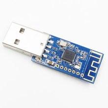 NRF24LU1 2.4GHz 1mW USB Ricetrasmettitore di Dati Senza Fili Modulo 94dBm 100m