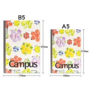 Image 3 - KOKUYO Libreta con diseño de frutas para estudiantes universitarios, libreta de notas con diseño de frutas, A5 / B5
