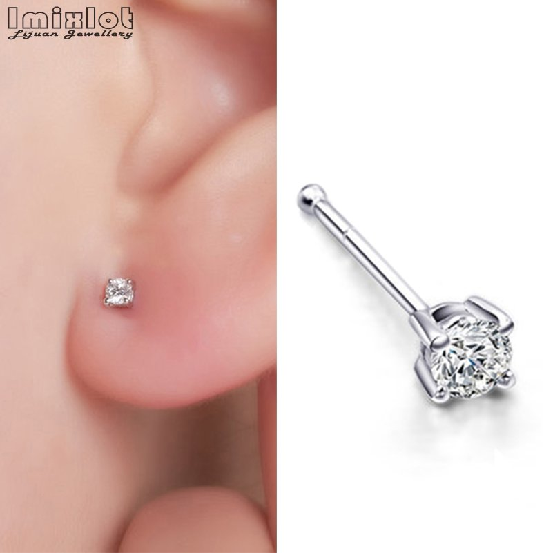 5 lot Retainer Hide Piercing Tongue Labret Nipple Lip Chin Ear Ring Stud JEWELRY