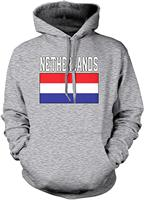 TSDFC Men's Netherlands Flag Hooded Sweatshirt Unisex men women hoodie