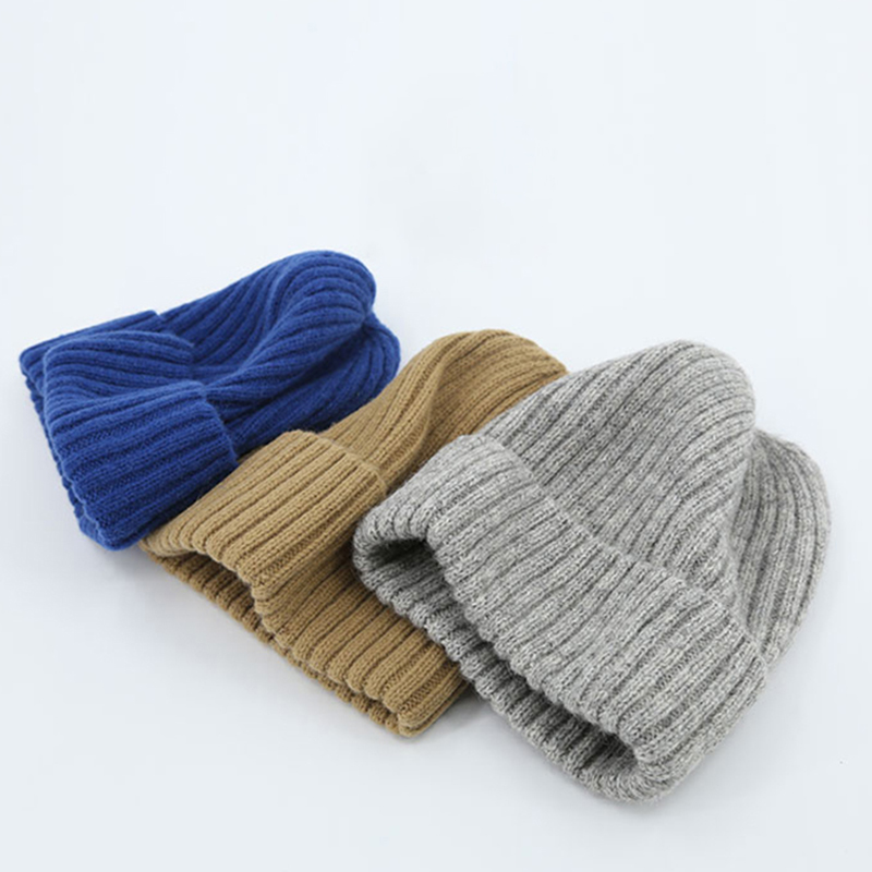 2020 ladies winter hat ladies new woolen hat knitted solid color cute hat girl autumn girl hat beanie warm hat ladies casual hat