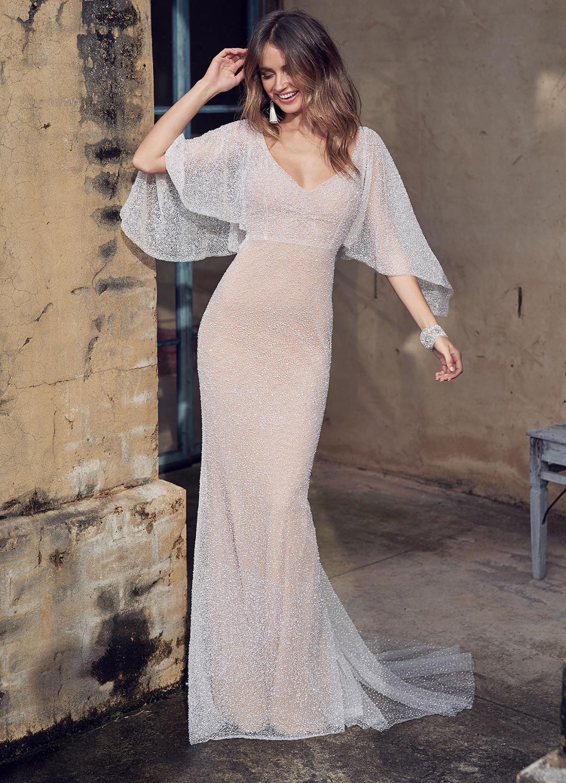 Sexy Backless Chiffon Dress Casual White Lace Evening Dresses Fashion Long Robe Vestido De Noiva 2020