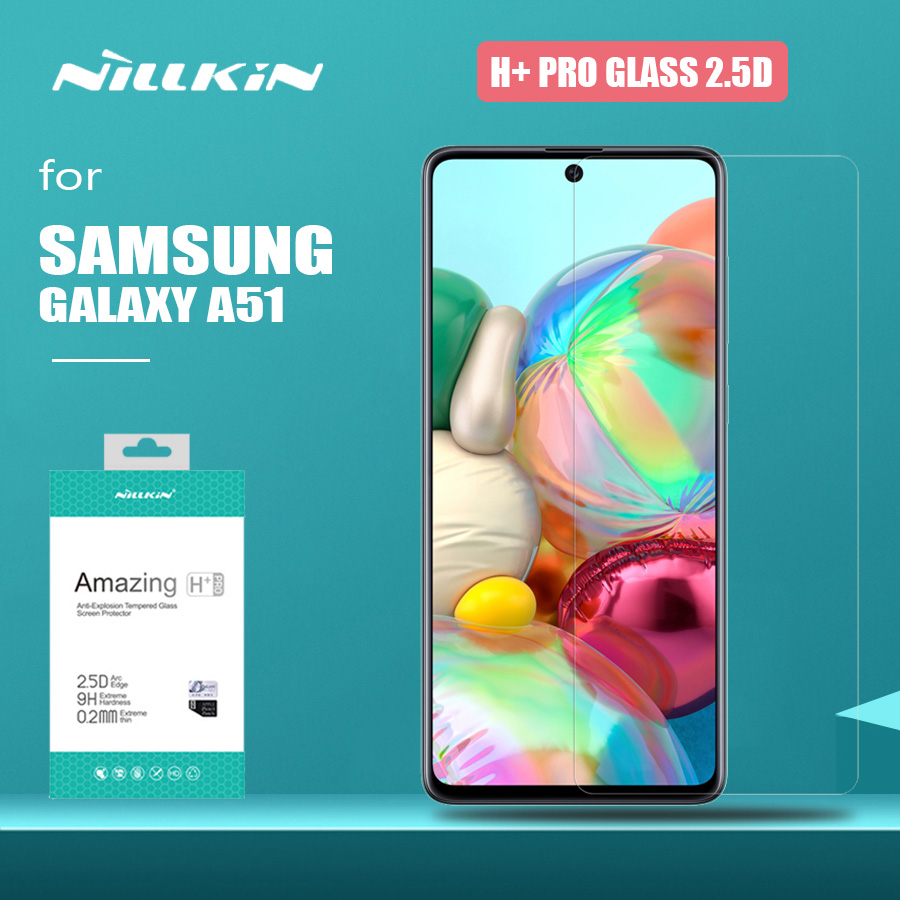 Nillkin for Samsung Galaxy A51 Glass H+ Pro Tempered Glass Screen Protector 0.2mm Ultra Thin HD Protective Glass For Samsung A51|Phone Screen Protectors| |  - title=