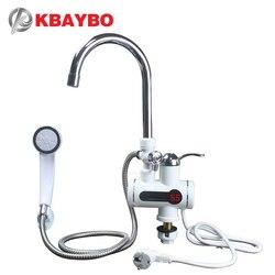 3000W chauffe-eau sans réservoir douche chauffe-eau instantané robinet cuisine robinet instantané 2 types de hors mode