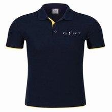 Nowa koszulka Polo RF roger federer logo bawełniana koszulka Polo z krótkim rękawem duża ilość koszulki polo