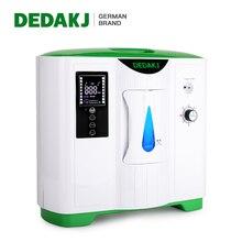 Портативный кислородный концентратор DEDAKJ немецкого бренда 2L-9L, генератор кислорода с низким уровнем шума для домашнего ухода, кислородная ...