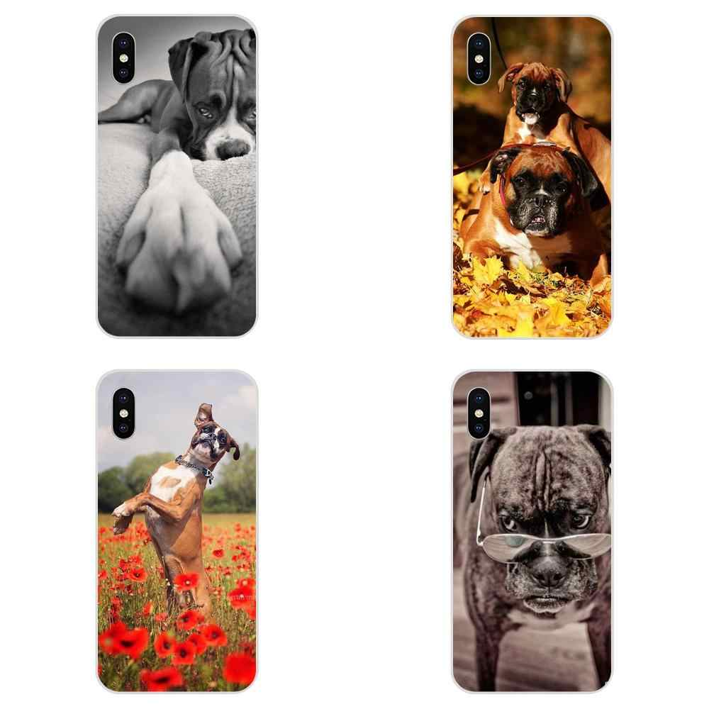 For Huawei Honor 4C 5A 5C 5X 6 6A 6X 7 7A 7C 7X 8 8C 8S 9 10 10i 20 20i Lite Pro Cover Case Boxer Dog Puppy Puppies Soft