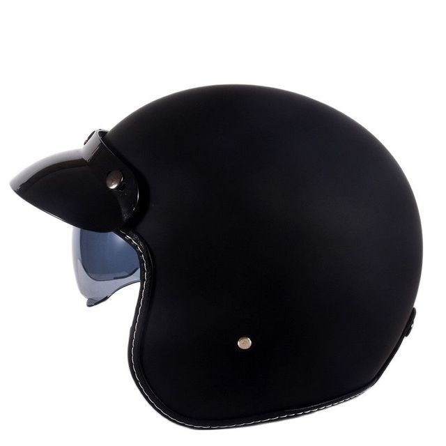 Hot Sale Wanli Brand Casque Moto Capacete Motorcycle Helmet Vintage Helmet High Quality 3/4 Open Face Scooter Helmets Dot