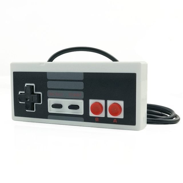 DATA FROG Classic Controller With USB Gaming Gamer Joystick Joypad For NES Windows PC for MAC Computer Game Controller Gamepad 2