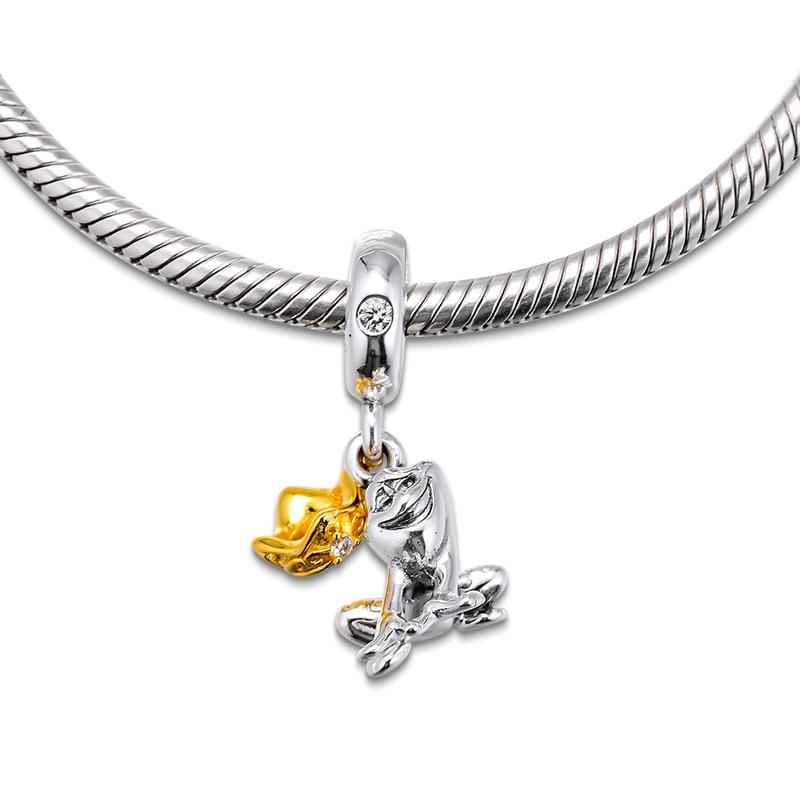 De Buman Sterling Silver Letter Q Charm Bead-fits Charm Bracelets