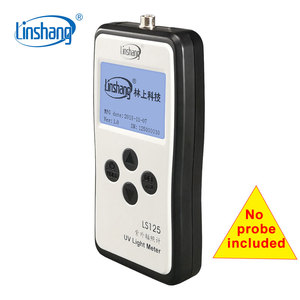 Image 5 - Linshang LS125 UV light meter test ultraviolet power UV intensity energy for 365nm 395nm UVA LED UVB UVC waterproof sensor probe