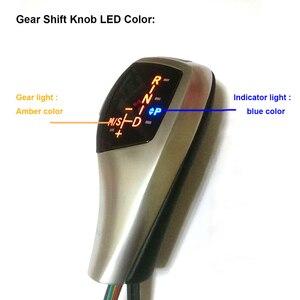 Image 5 - האחרון ב 2019 מראה מעודכן ידית הילוכי LED עבור BMW X3 E83 E83 LCI 2004 2010 אביזרים