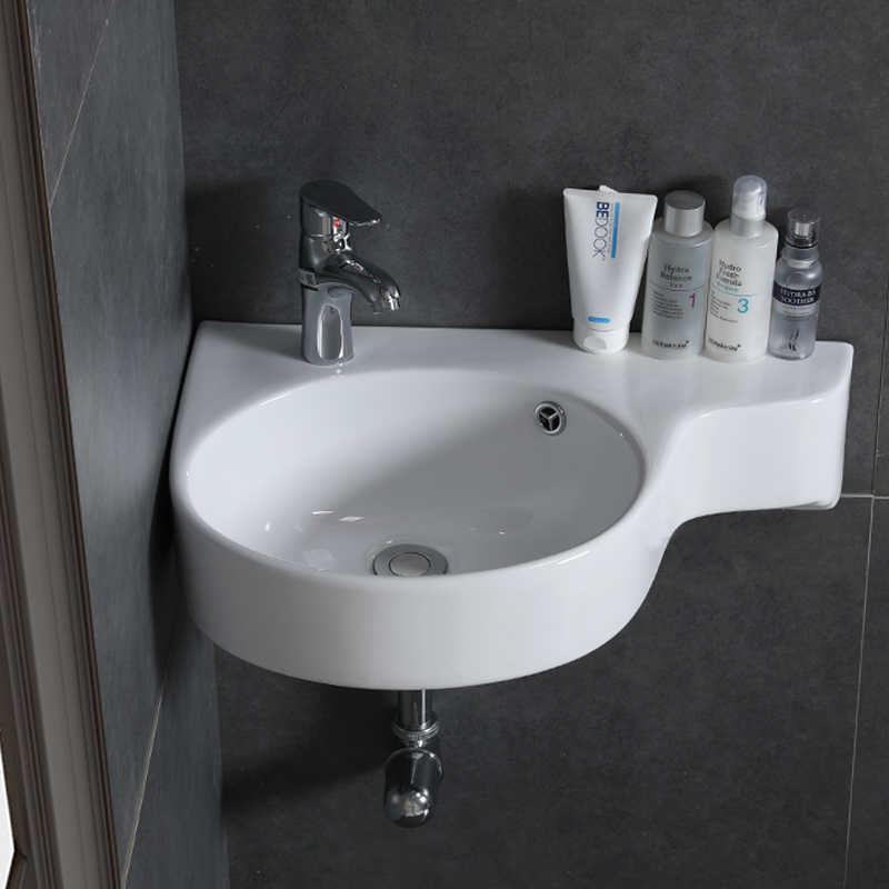 bathroom corner basin hanging basin