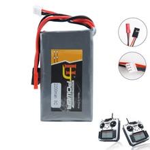 RC Li-Polymer 2S 7,4 V 2200MAH 8C Lipo батарея для Flysky GT3B T6/Futaba 14SG 2,4 Ghz FASSTest 14ch t10J передатчик
