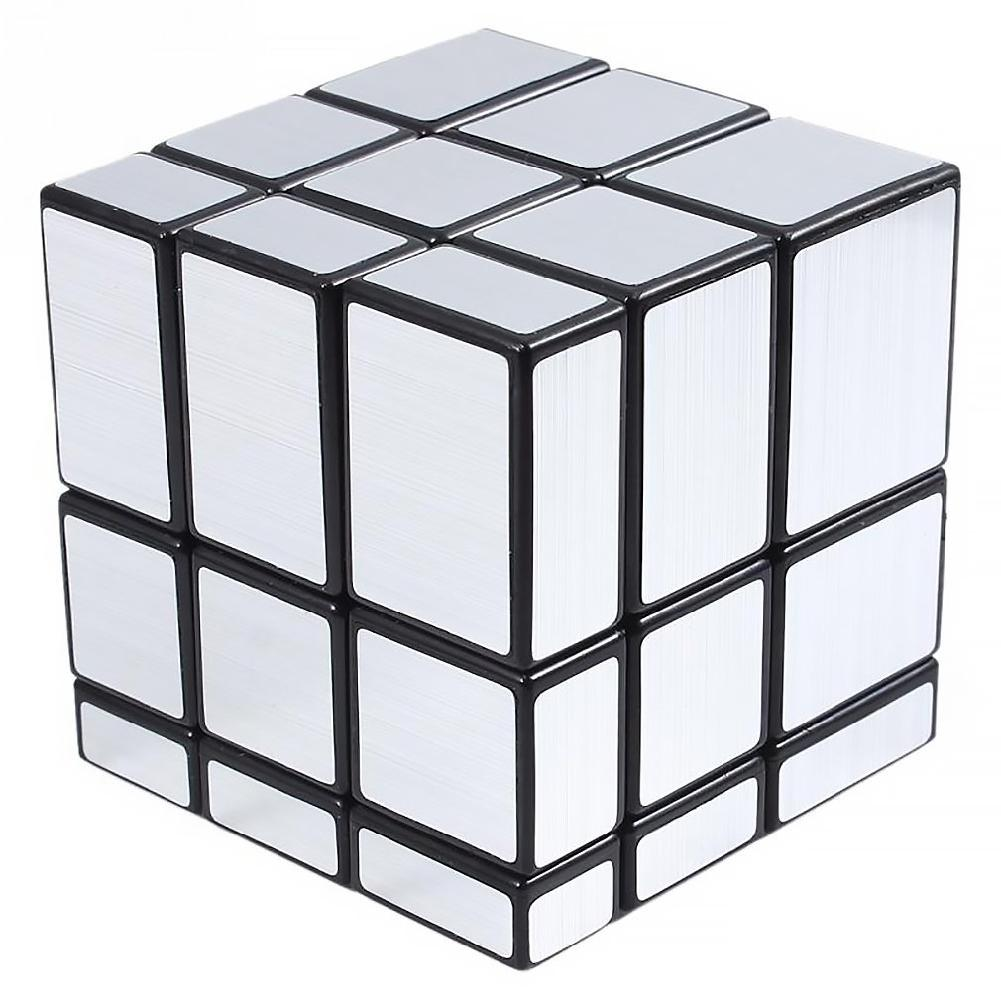 Kuulee Mirror Bump Magic Cube Twisty Puzzle Ultra-smooth High Quality Child Interesting Toys Smart Cube 3x3x3