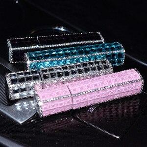 Diamantes de imitación mini hidratante perfume de viaje sub-botella portátil botella rociador de perfume en botella de frasco con rociador pequeño riego puede vacía