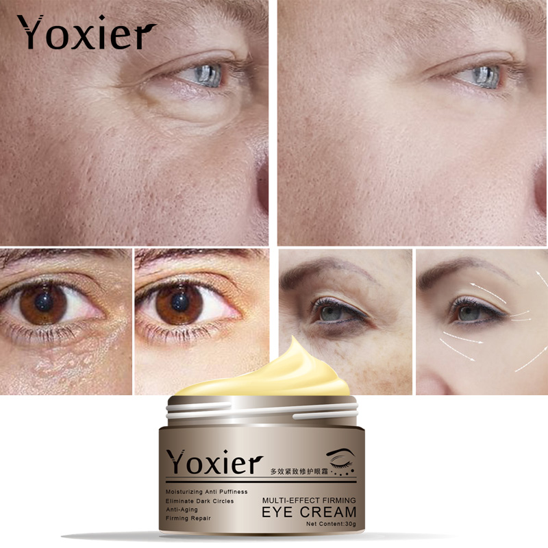 Yoxier Snail Eye Cream Face Cream Anti-aging Remove Eye Bag Lifting Firming Fine Lines  Facial Skin Care  Buy 2 Get 1 Free Gift-3