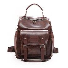 Высококачественный Женский рюкзак в стиле ретро, сумка на плечо в лондонском стиле, школьный ранец для девочек подростков, Женский студенческий рюкзак