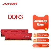 JUHOR-Memoria Ram DDR3 con disipador de calor, 4GB, 8GB, 1600MHz, 1866MHz, nuevo Dimm, DDR3